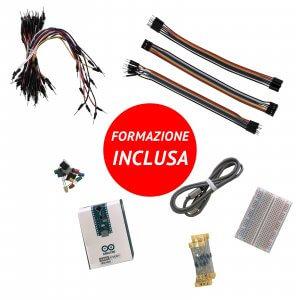 kit robotica con arduino nano every e formazione inclusa