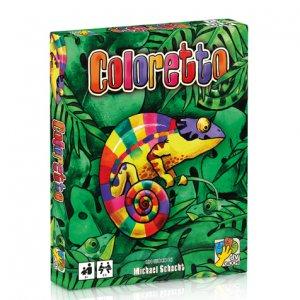 coloretto gioco di carte semplice e originale
